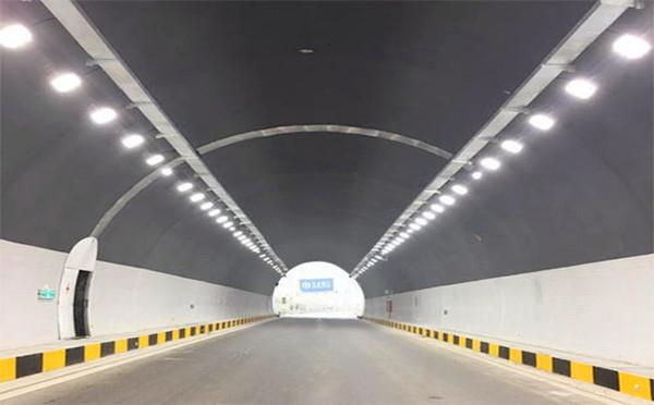 韶关高速路段隧道工照明案例