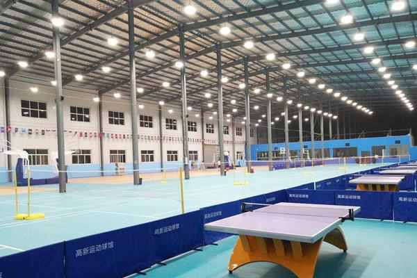 西安高新运动球馆体育照明改造项目
