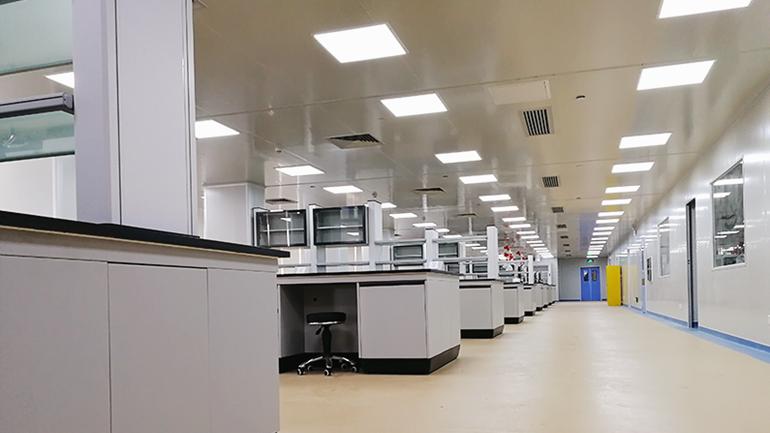 青岛市瑞科科技实验室照明案例