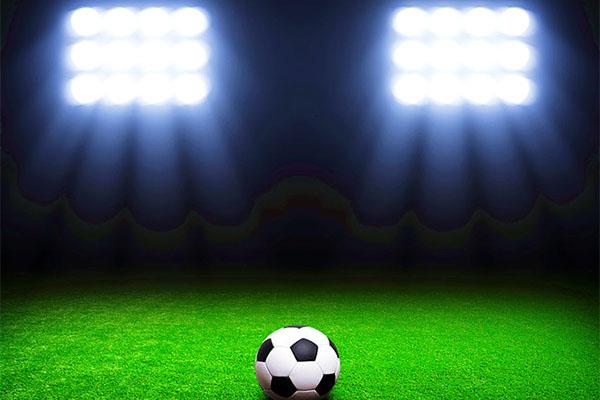 体育学院足球场照明改造案例