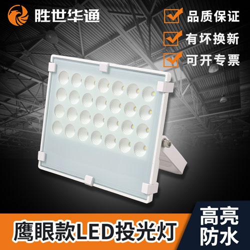 鹰眼款白色LED投光灯